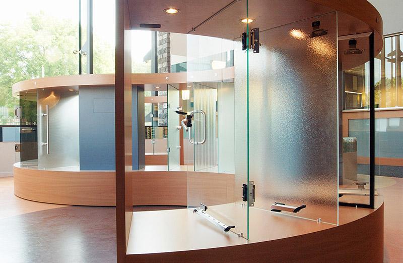 Spiegels Op Maat Nijmegen.Showroom Seuren Glasservice